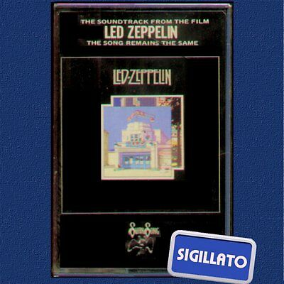 "Led Zeppelin "" The Song Remains The Same "" Doppia Musicassetta Sigillata Mc (K7)"