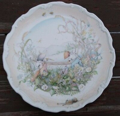 ROYAL DOULTON - THE WIND in the WILLOWS PLATE - CHRISTINA THWAITES - 1984