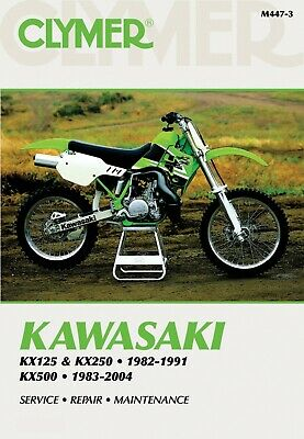 Kawasaki KX 250 H 1990-1991 Manuals - Clymer (Each)