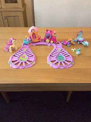 My Little Pony Train Set with extras in very good condition