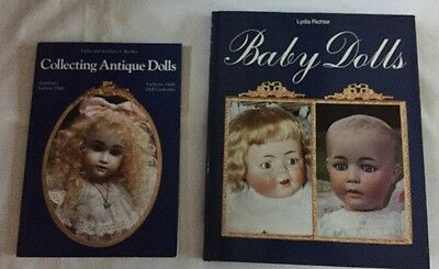 Collecting Antique Baby Dolls Lydia Richter Hobby House Lot Of 2 Books