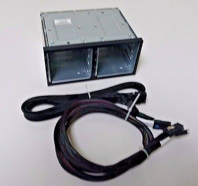 HP ProLiant 516914-B21 8xSFF SAS HDD Cage DL380G6/G7 496074-001 w/LONG PWR CABLE