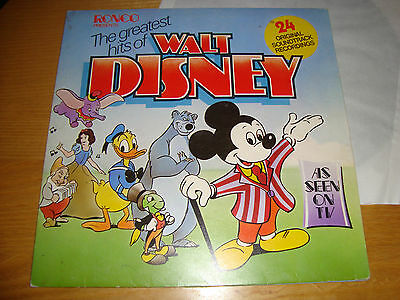 The Greatest Hits Of Walt Disney - Lp 1975 Ronco