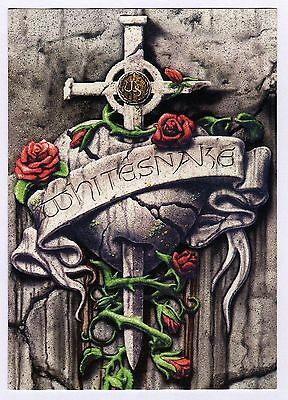 15x Whitesnake: Crest - Postcard (Lot of 15 Postcards)