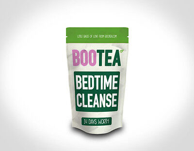New Bootea Bedtime Cleanse ONLY- 14 Days - 7 Teabags Teatox Detox Boo Tea Skinny