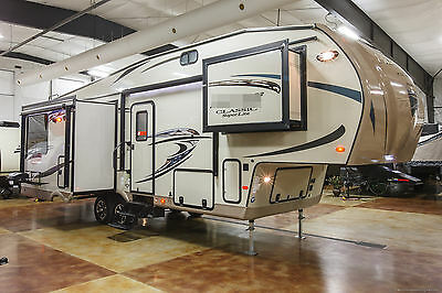New 2016 8528IKWS Island Kitchen Triple Slide Out Light Lite Fifth 5th Wheel
