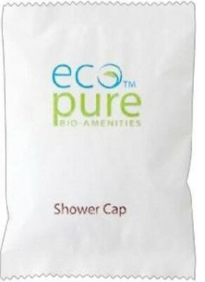 Eco Pure Hotel / Motel Guest Shower Caps Carton Of 50 Pieces