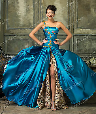 Elegant Women Long Formal Prom Evening Cocktail Party Ball Gown Bridesmaid Dress