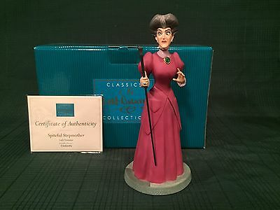 "WDCC Cinderella - Lady Tremaine ""Spiteful Stepmother"" New in Box"