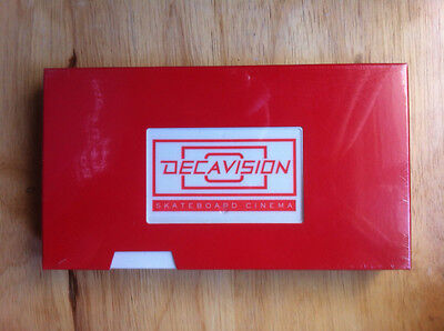 Decavision ~ 1st Deca Skateboard Video - Sneak Preview ~ NEW / SEALED 2001 VHTF