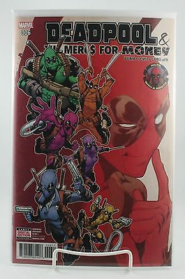 Deadpool & (And) The Mercs For Money #6! 1st Print! Unread! Marvel! NM! 2016