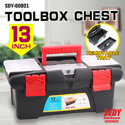 Fishing Tackle Hook Tool Box Parts Organiser Trays Chest Toolbox Case Storage