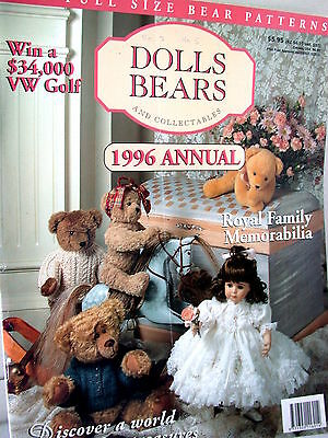 DOLLS BEARS  & COLLECTABLES  techniques patterns clothes tips ideas VOL 2   NO 5