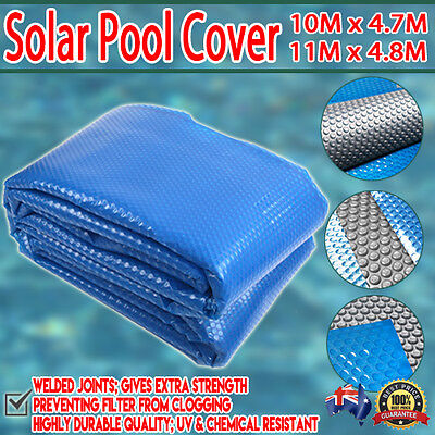 UV Isothermal Solar 400 Micron Swimming Pool Bubble Blanket Heating Winter Cover
