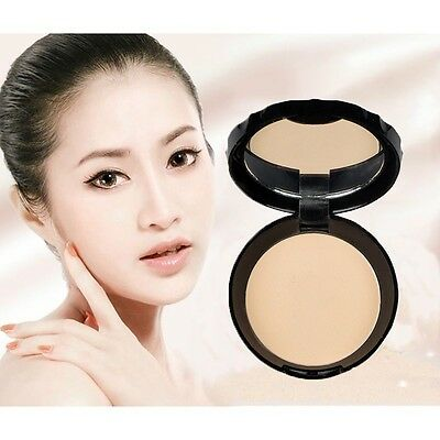 Face Smooth Dry Pressed Oil Control Makeup Powder Bronzers Lasting Beauty
