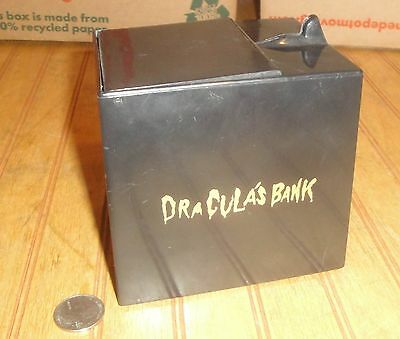 Vintage 1960s ? Dracula's Tin & Plastic Battery Operated Coin Bank Parts/Repair