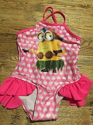 Fabulous Dispicable Me Bathers Size 1 Vgc