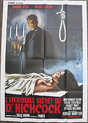 THE HORRIBLE DR. HICHCOCK (1962) Original Italian Movie Poster R70s Cult Horror