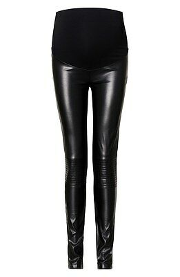 NEW Noppies Lillian Over the Belly Maternity Leggings-Black-Size XS/S