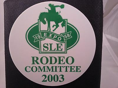 Rodeo Exibition Button Pinback