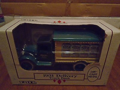 COORS Malted Milk 1931 Delivery Diecast 1994 ERTL Truck Bank 1/34  # B233