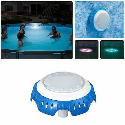 Swimming Pool Light LED Bestway Multi Coloured Pool Lighting Water Powered NEW