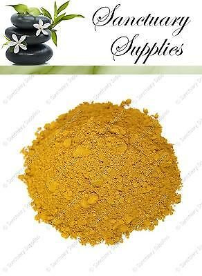 Yellow Iron Oxide Cosmetic Grade Mineral Pure Powder Pigment DIY Soap Colour