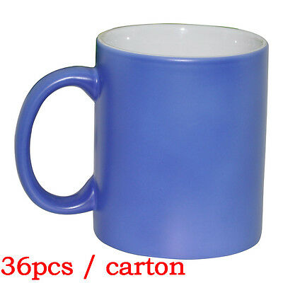 11OZ Blank Sublimation Color Changing Mugs *36pcs Magic Cup Full Color Changing