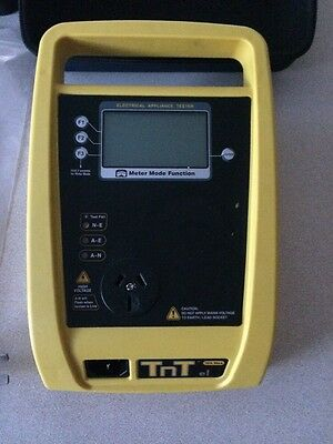 TnT-EL Portable Appliance Tester with Earth Leakage Function