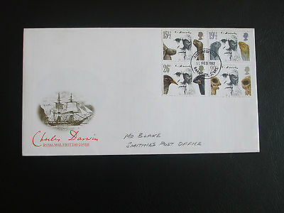 Great Britain First Day Cover 1982 Death Centenary of Charles Darwin