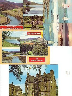 4 Scottish Postcards
