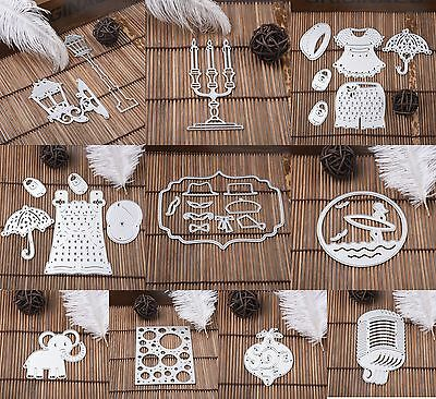 Metal Cutting Dies Stencil For DIY Scrapbooking Embossing Paper Card Craft Home
