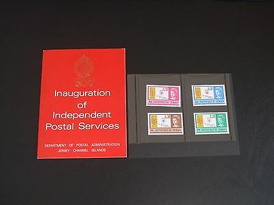 Jersey 1969 Inauguration of Independent Postal Services Presentation Pack