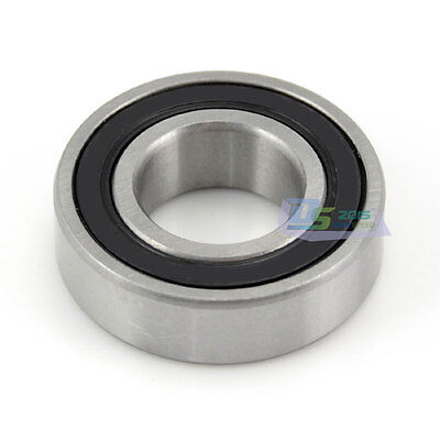 Bearings 6806 2RS RS Rubber Sealed Deep Groove Ball Bearing Double Side Metal