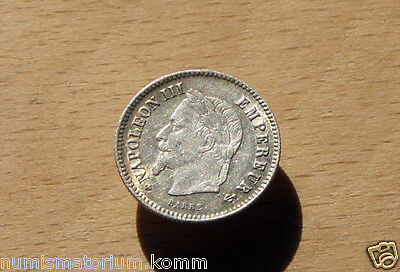 20 CENTIMES cent 1860 A/BB - 1866 K -1867 A/BB FRANCE Frankreich NAPOLEON III.(3