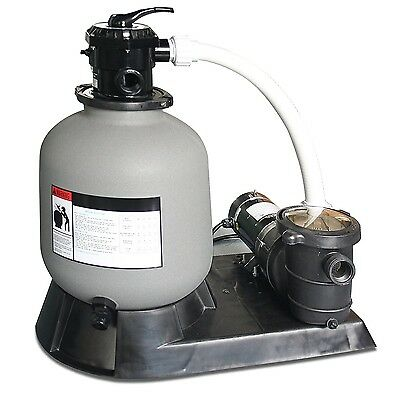 Sand Filter For Above Ground Swimming Pool No Rust And Integrated Pressure Valve