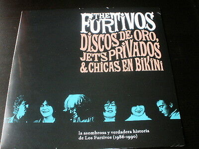 LP the los FURTIVOS discos de oro 1986-1990 SPAIN 2014 VINYL VINILO GARAGE PUNK