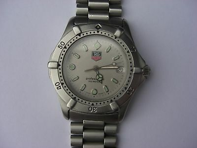Tag Heuer Professional 2000 Watch for Spares or Repair. Not Working
