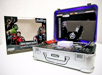 Marvel Cinematic Universe Phase 1 One Shield Briefcase & tesseract replica prop