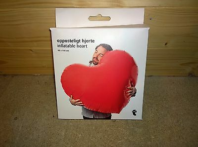 Giant inflatable heart valentines day gift