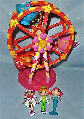 Mini Lalaloopsy Dolls and Ferris Wheel