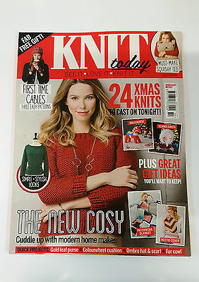 Knit Today Magazine Issue 119 Dec 2015