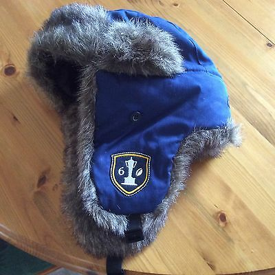 RBS Six Nations - Trapper Hat - One Size - Blue