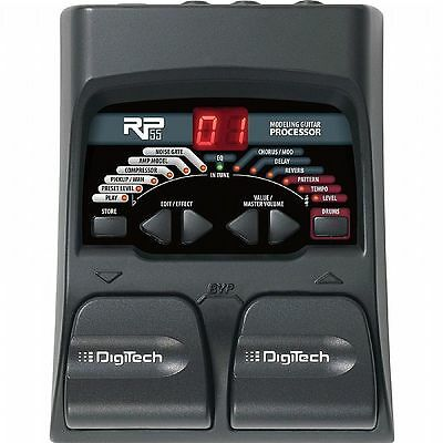 Digitech RP55 Amp Modelling & Multi Effects Pedal For Guitar