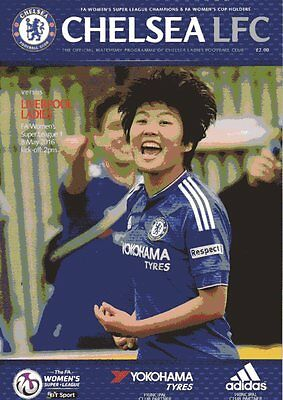 Womens Super League - Chelsea Ladies v Liverpool Ladies 8.5.2016