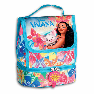 Disney Princess Moana Insulated Lunch Bag School Cooler Snack Box Vaiana