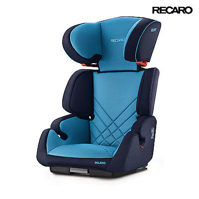 Recaro Milano Seatfix Xenon Blue Child Seat (15-36 kg) (33-80 lbs)