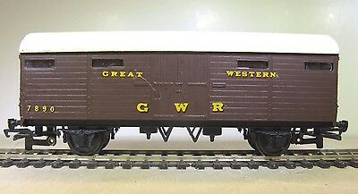 Gwr Oo Gauge Kit Built Lms 4 Wheel Cct In Great Western Livery 4Mm Fine Scale