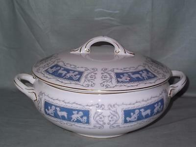 Coalport Revelry Bone China Lidded Vegetable Tureen (With faults) (Blue)