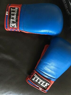 Title Boxing Gloves T-7